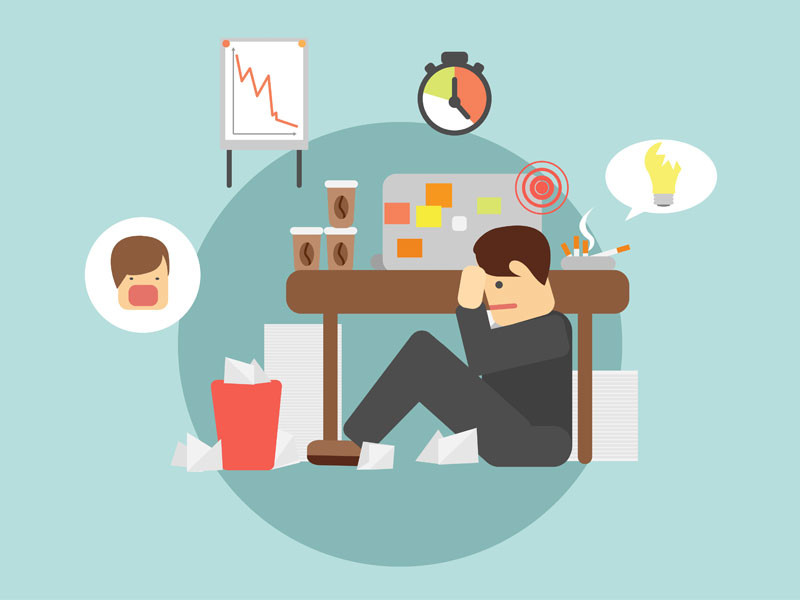sintomas da síndrome de bournout