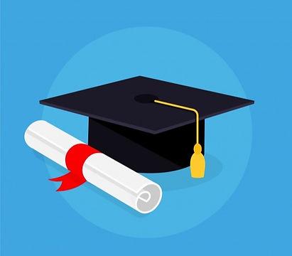 graduation-cap-diploma-with-flat-design_