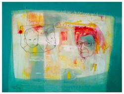 Colectivo Ki Memorias Mixta sobre tela 2014 $7,150.00
