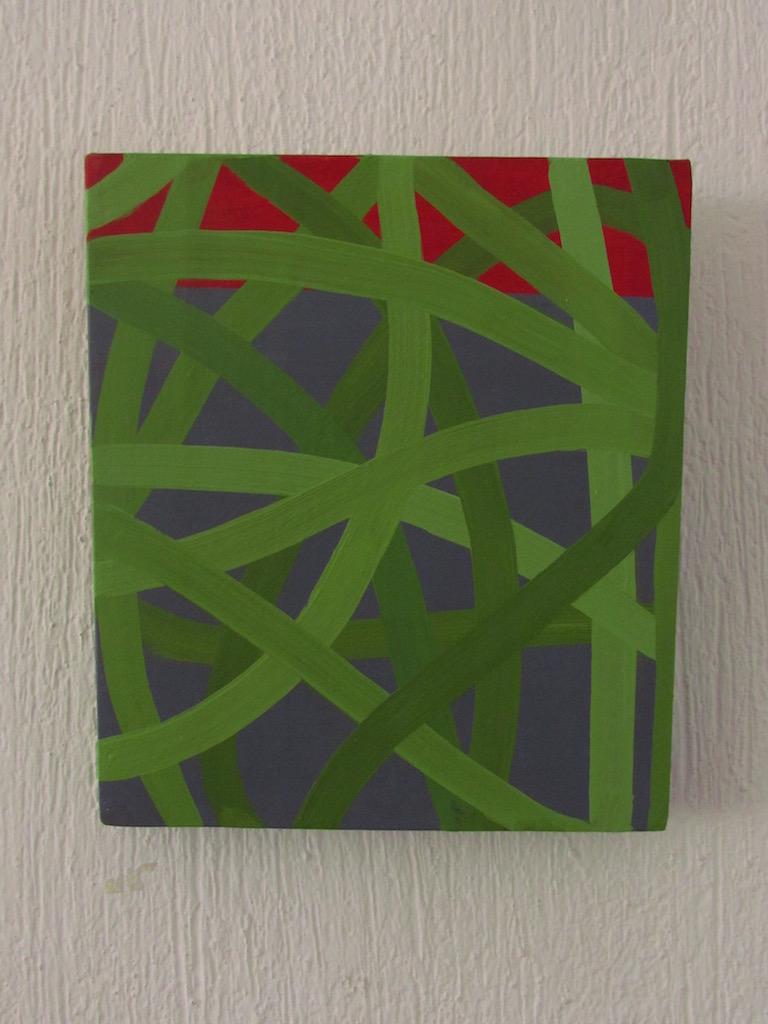 Néstor Ortega, Horizonte 03, Óleo _ tela, 30 x 26 cm, $2,600.00