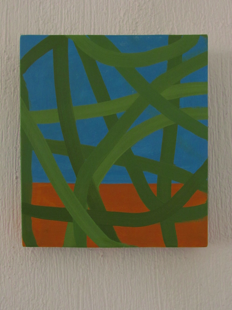 Néstor Ortega Vargas, Horizonte 04, óleo _ tela, 30 x 26 cm, $2,600.00