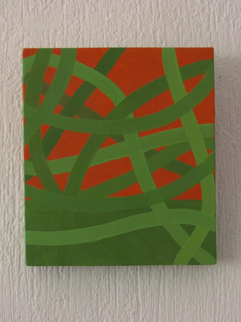 Néstor Ortega Vargas, Horizonte 02, óleo _ tela, 30 x 26 cm, $2,600.00