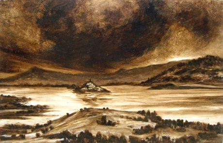 Janitzio Mixta sobre papel 51 x 94 cm $23,000.00