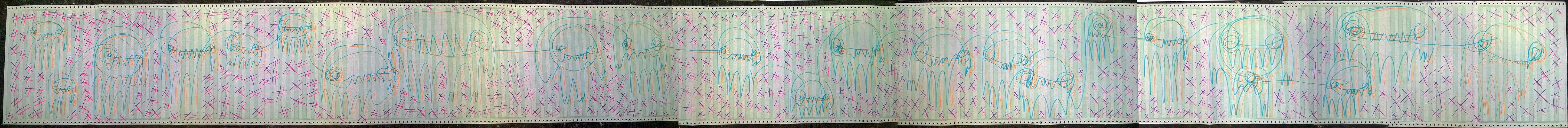 Javier_González_Pigsucker_Dimensiones_Variables_Marcador_38_x_504_cm_$1,040.00