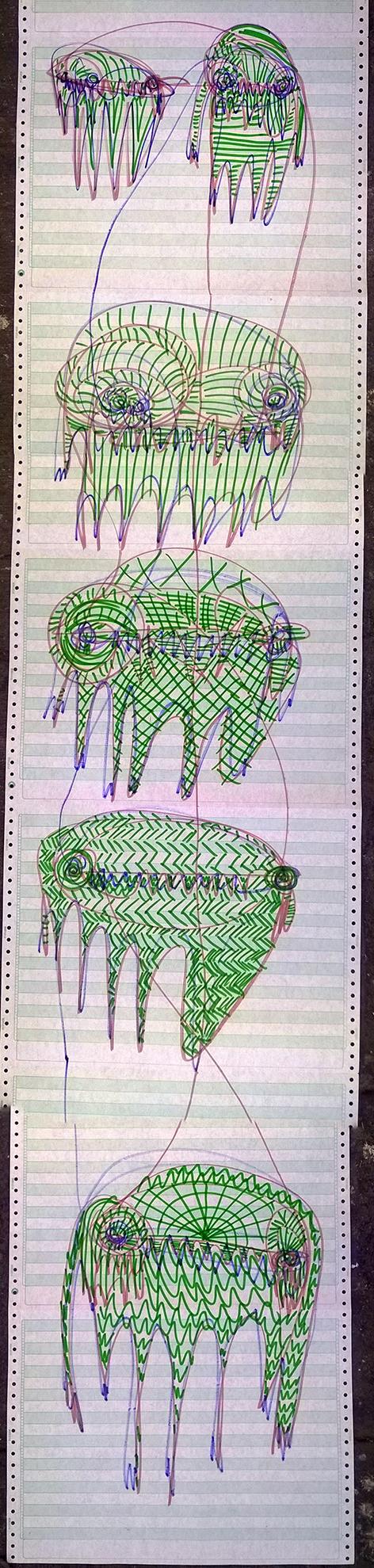Javier_González_Pigsucker_Fosa_Clandestina_03_Técnica_mixta_38_x_168_cm_$650.00