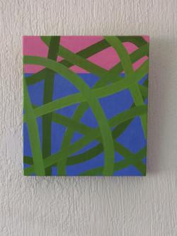 Néstor Ortega Vargas, Horizonte 01, óleo _ tela, 30 x 26 cm, $2,600.00