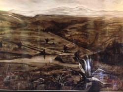 Marcos Zamora Tequesquinahuac Mixta papel. 100 x 140 cm. 2016.$19,500.00