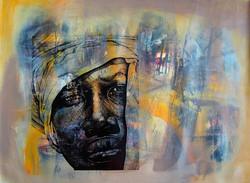 Colectivo Ki Raices Retomando a Isabel Mixta sobre tela 2014 $8,710