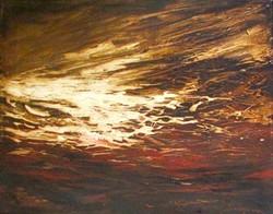 A la orilla del tiempo Mixta sobre tela 40 x 50 cm $10,000.00