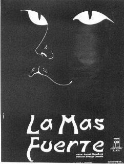 """Afiche de: """"La Más Fuerte""""."""