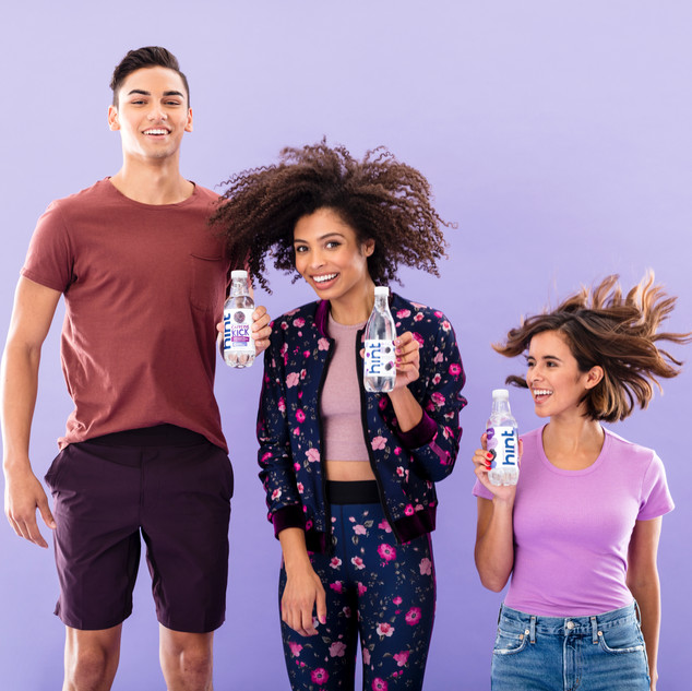 Hint Water San Francisco campaign shoot