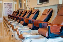 Cozy Nail Spa Chairs