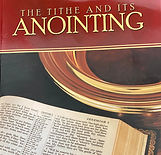 The Tithe and It's Anointing- Book By GE