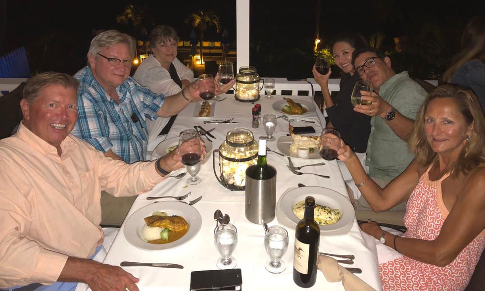 Dinner at Runaway Hill Inn