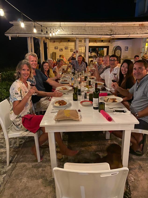 Bahamas Arrival Dinner at Romora Bay Resort