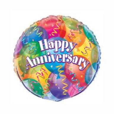 "Balloon Foil 18"" Jubilee Anniversary"