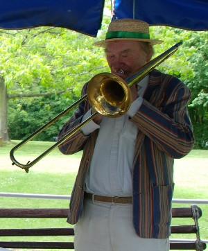 Paul Munnery - possibly England's hottest jazz trombonist
