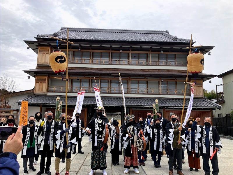 笠間義士会パレード