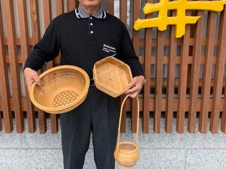 笠間の竹細工
