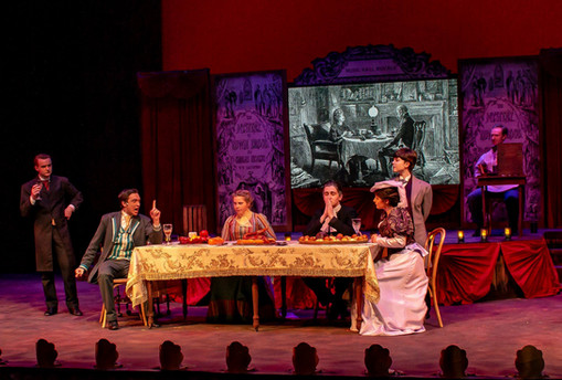 Mystery of Edwin Drood - Scenic & Projection Design