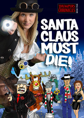 Máilí takes mobsters to a stringverse so they can  kneecap Rudolf and waste Santa Claus.