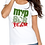 Thumbnail: MVPSOS TEAM: White T-Shirt with 2-Color Logo