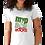 Thumbnail: MVPSOS ROCKS: White T-Shirt with 2-Color Logo