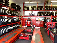Interior of Best Buy Discount Tires service department