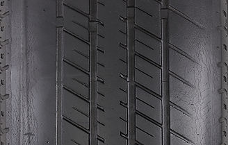 Under-inflated tire tread wear