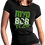 Thumbnail: MVPSOS TEAM: Black T-Shirt with 1-Color Logo