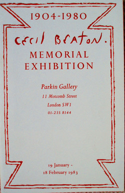 Cecil Beaton Memorial