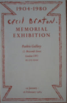 Cecil Beaton catalogue