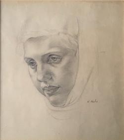 Girl in a headscarf 1920