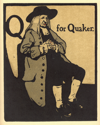 Q is for Quaker