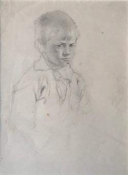 Grumpy Boy Etaples 1920