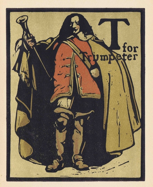 T is for Trumpeter