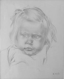 Little Girl, Etaples c.1920