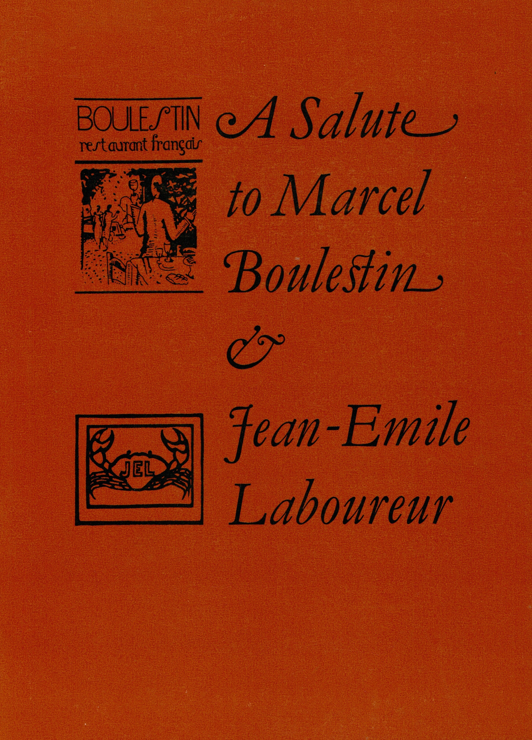 A Salute to Boulestin & Laboureur