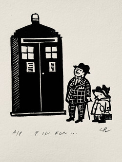 P is for ... Paddington and Policebox