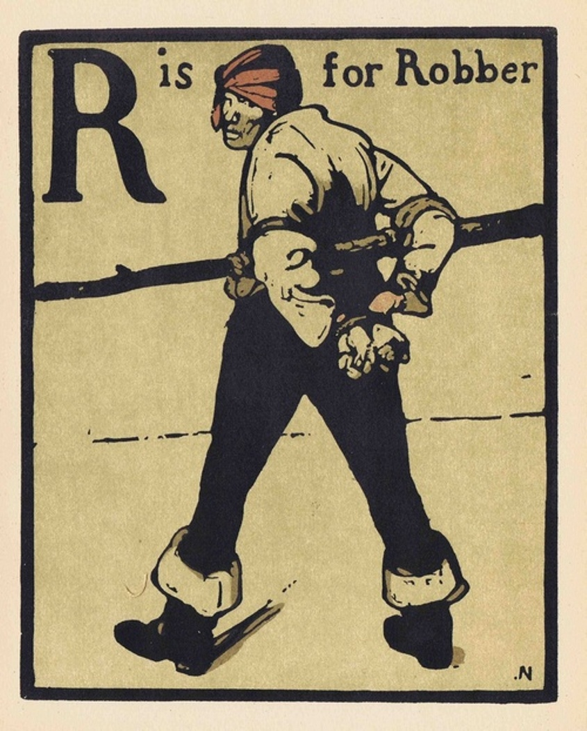 R is for Robber