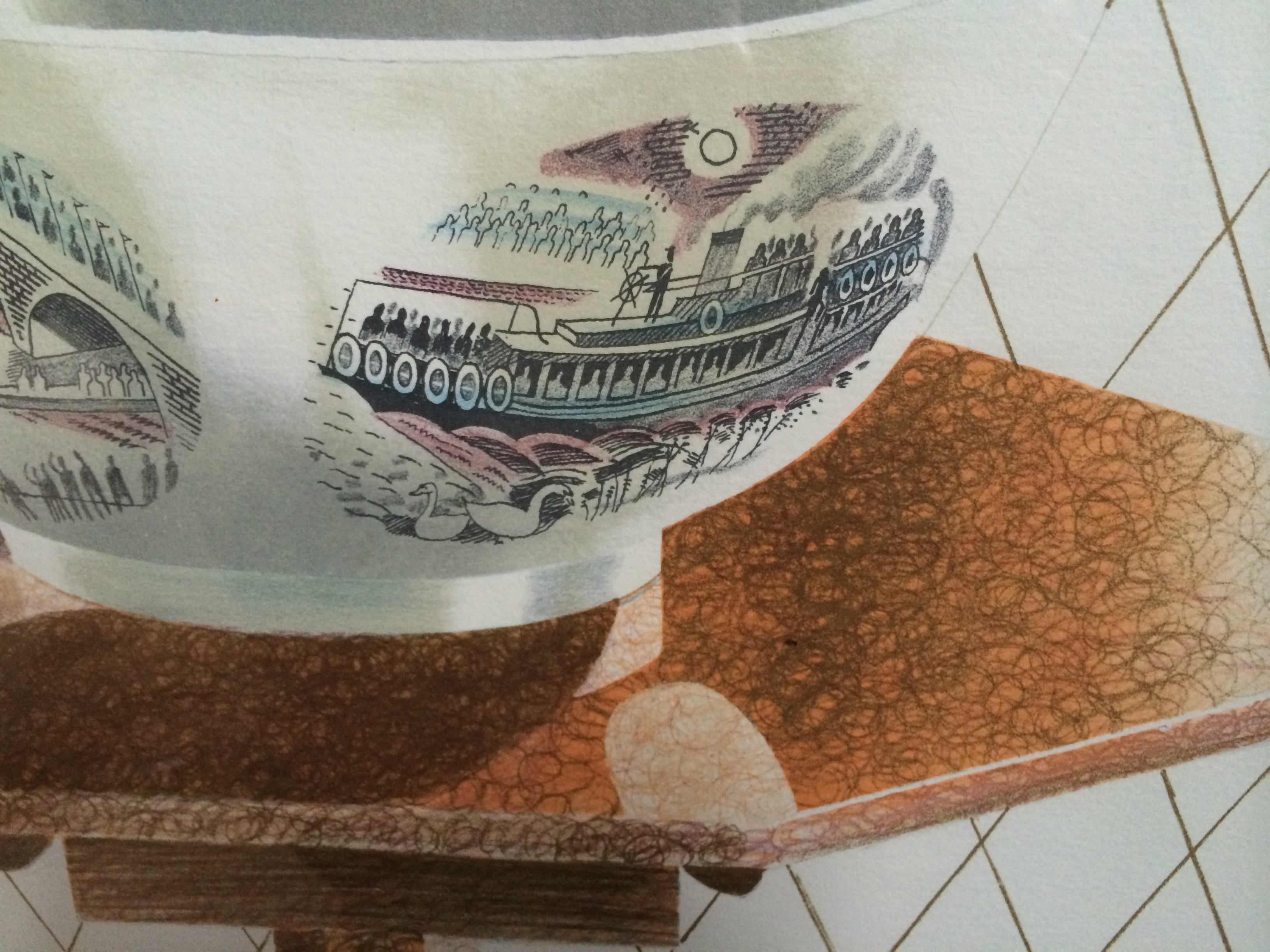 The Ravilious Bowl (detail)