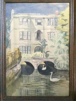 Folly Bridge , Oxford 1938