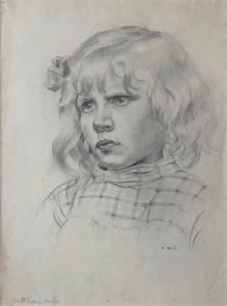 Girl in a checked blouson 1920