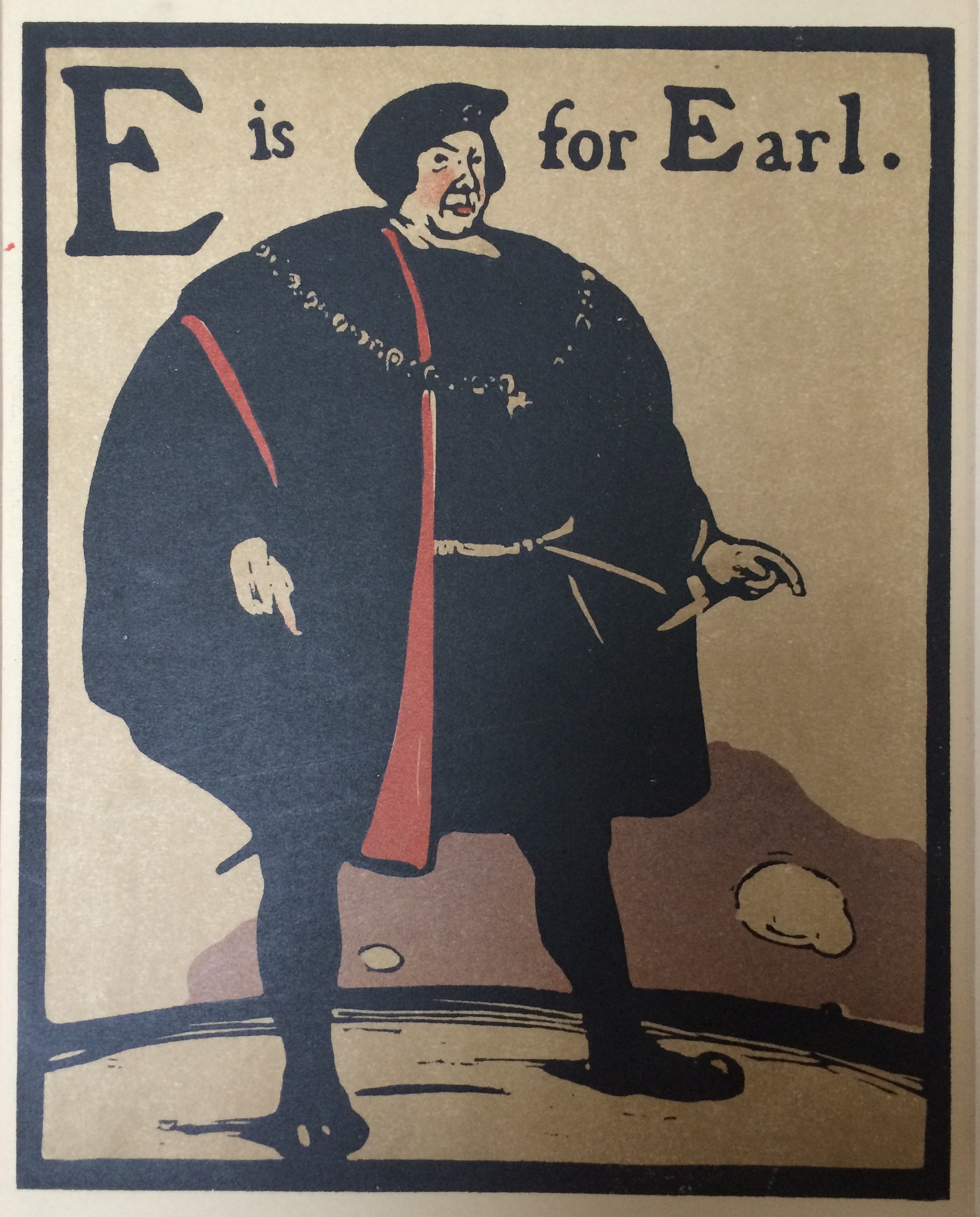 E is for Earl