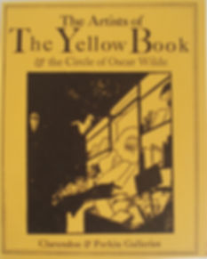 Yellow Book Oscar Wilde Catalogue