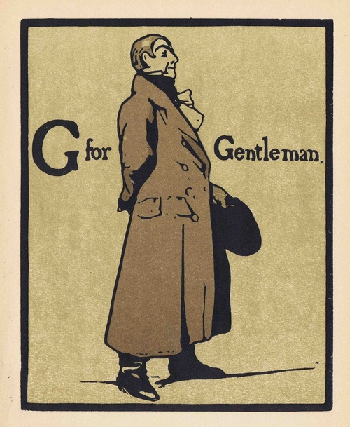 G is for Gentleman