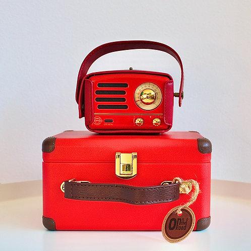 Muzen OTR Metal Speaker - Red
