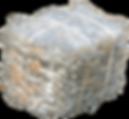 Plastic Wrap Waste Bale