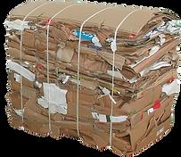Cardboard Waste Bale