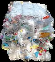 Polythene Waste Bale